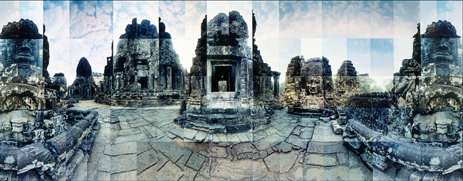 Large image of Bayon, Angkor Thom, Cambodia