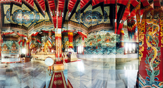 Large image of Bhutan Temple, Bodh Gaya, India