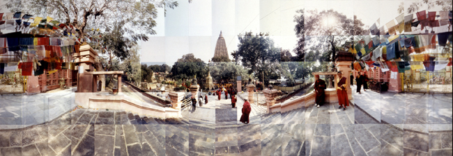 Large image of Bodhi Tree, Bodh Gaya, India