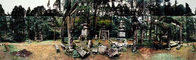 Large image of City of the Dead, No. 2, Okunoin, Japan