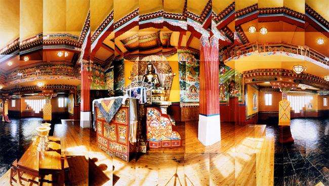 Large image of Norbulingka Temple, Dharamsala, India