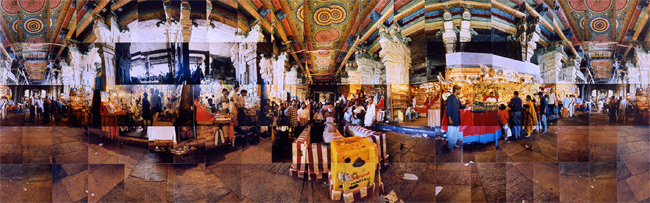 Large image of The Saint in the Marketplace, Meenakshi Temple, Madurai, India