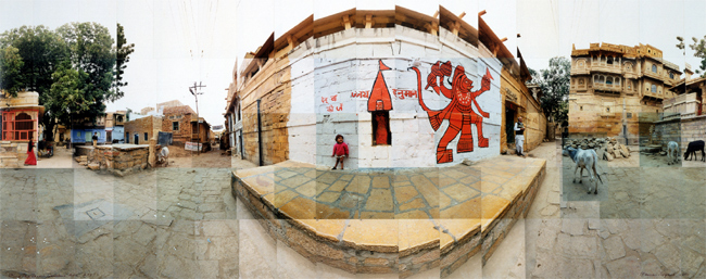Large image of Kund Pava Square (Hanuman), Jaisalmer, India