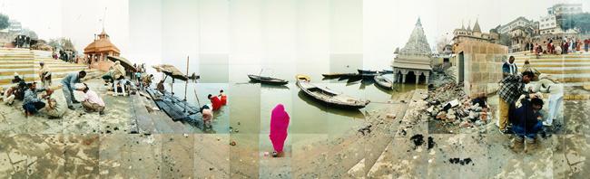 Large image of River Ganges, Varanasi, India