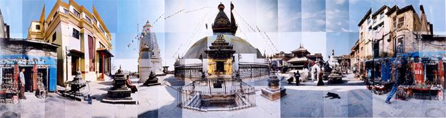 Large image of Swayambhunath Stupa, Kathmandu, Nepal