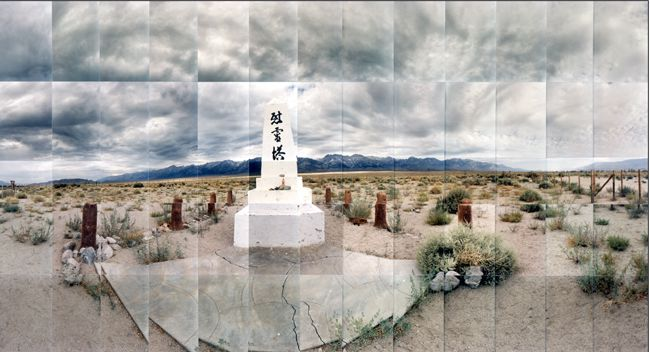 Large image of Manzanar Relocation Camp, Monument (Version 1), Inyo, California