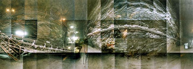 Large image of Cleveland Salt Mines II, Cleveland, Ohio - salt mine
