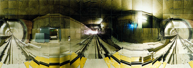 Large image of L.A. Subway no. 2, Los Angeles, California