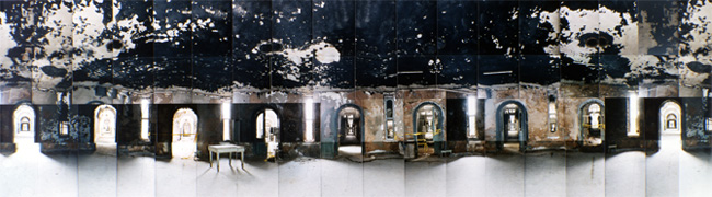 Large image of Eastern State Penitentiary, Rotunda, Philadelphia, Pennsylvania