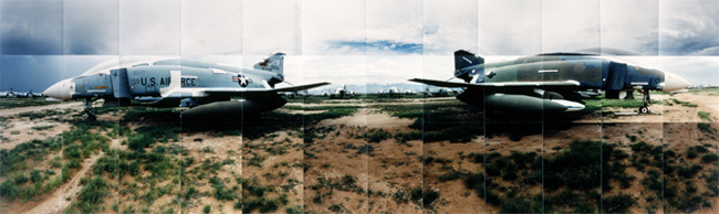 Large image of F-4's Airplane Graveyard no.1, Tucson, Arizona