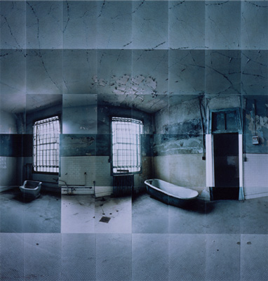 Large image of Alcatraz Penitentiary, Hydro Therapy Room, San Francisco, California