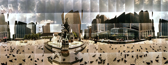 Large image of Fountain Square, Cincinnati, Ohio