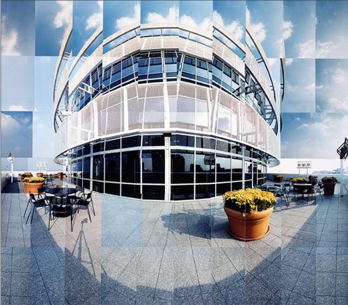 Large image of OSERF Building Patio, Columbus, Ohio